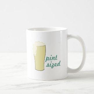 Pint Sized Basic White Mug