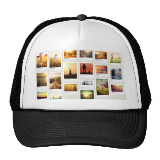 Pinterest Themed Mesh Hats