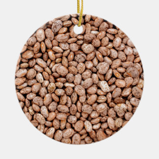 Pinto beans christmas ornament