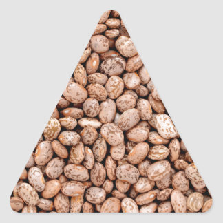 Pinto beans triangle sticker