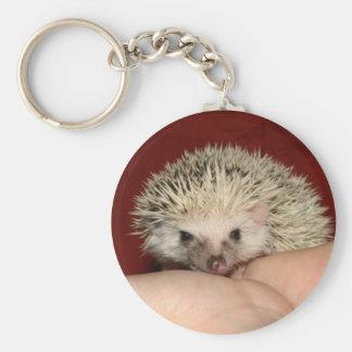 Pinto face hedgehog key ring