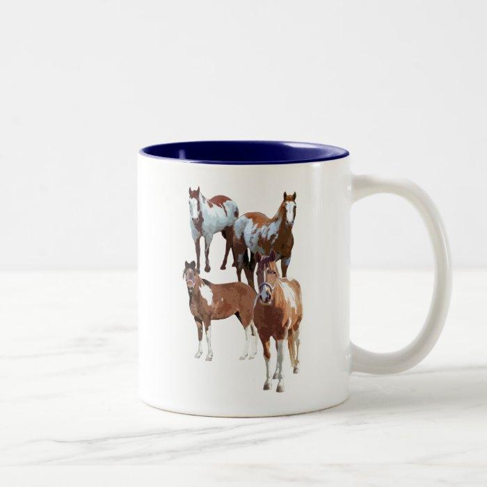 Pintos And Paints mug