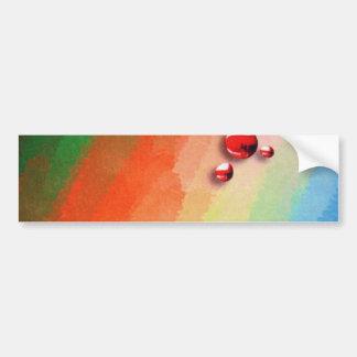 pintura de varias cores adesivos
