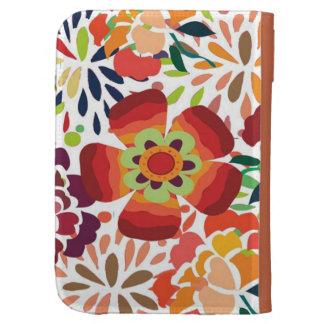 pintura floral bonita cases for the kindle