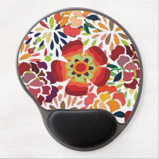 pintura floral bonita gel mouse pad
