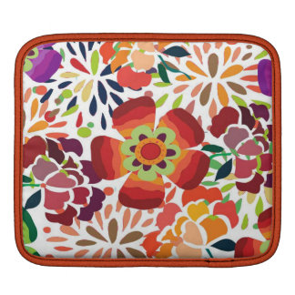 pintura floral bonita iPad sleeve