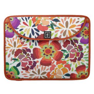 pintura floral bonita sleeve for MacBook pro