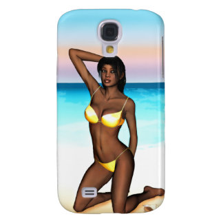 PinUp Girl Denise Galaxy S4 Case