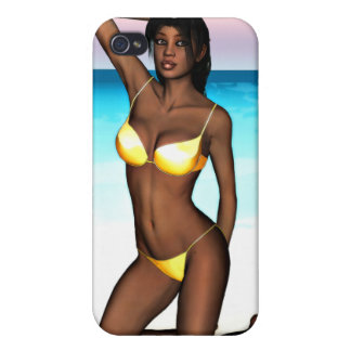 PinUp Girl Denise iPhone 4 Cover