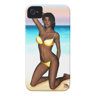 PinUp Girl Denise iPhone 4 Covers