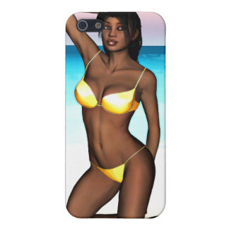 PinUp Girl Denise iPhone 5 Cover
