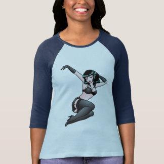 Pinup Girl Jersey Retro 50s Pinup Jersey Shirt