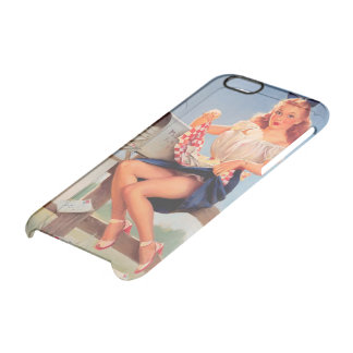 PinUp layer by Elvgren Phone6/6s Clearly™Deflector Clear iPhone 6/6S Case