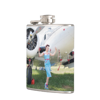 Pinup Pamela Marie Warbird Flask