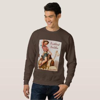 Pinup Saddle Sweatshirt