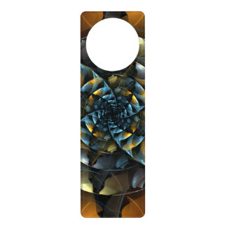 Pinwheel Abstract Art Door Knob Hanger