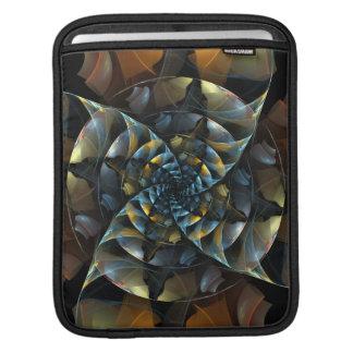 Pinwheel Abstract Art iPad Sleeve