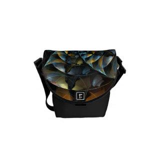 Pinwheel Abstract Art Mini Bag Commuter Bag