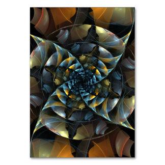 Pinwheel Abstract Art Table Card