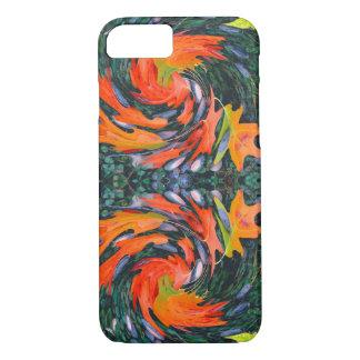 Pinwheel Autumn Leaves & Acorns iPhone 7 Case