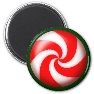 PINWHEEL CANDY by SHARON SHARPE Magnet