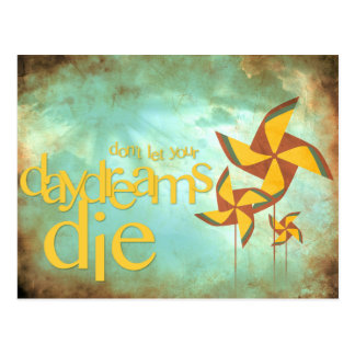 pinwheel daydreams post cards
