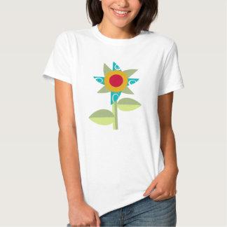 Pinwheel Flower Tee Shirts