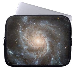 Pinwheel galaxy laptop computer sleeves