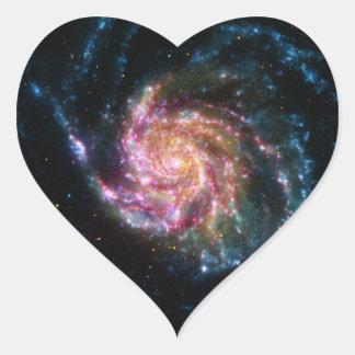 Pinwheel Galaxy Spiral Space Sticker