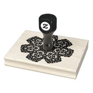 Pinwheel Rubber Stamp