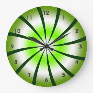 Pinwheel Wall Clock