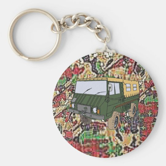 Pinzgauer 710M Military truck key chain