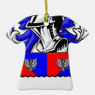 Pinzon Coat of Arms Christmas Tree Ornament