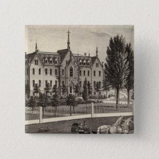 Pio Nono College & Normal School 15 Cm Square Badge