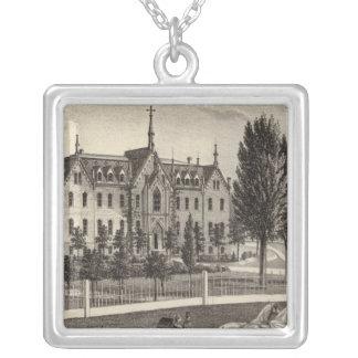 Pio Nono College & Normal School Silver Plated Necklace