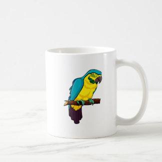 Pio Parrot Coffee Mugs