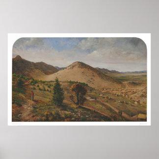 Pioche, Lincoln County, Nevada (1186) Posters