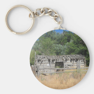 Pioneer Cabin Key Ring