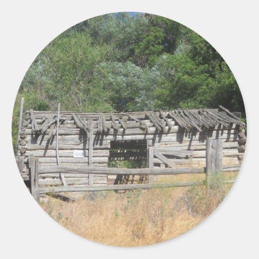 Pioneer Cabin Sticker