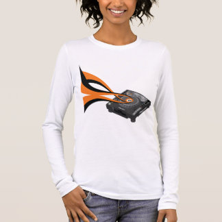 Pioneer CDJ 1000 SWIRLS Long Sleeve T-Shirt