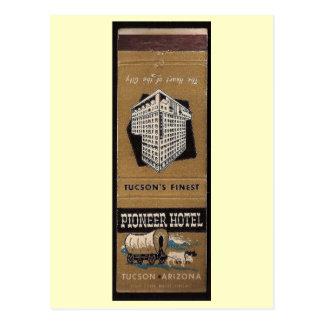 Pioneer Hotel, Tucson, Arizona Vintage Postcard