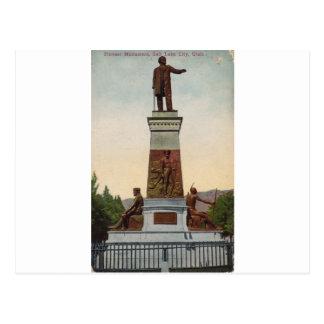 Pioneer Monument, Salt Lake City Postcard