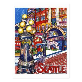 Pioneer Square Postcard