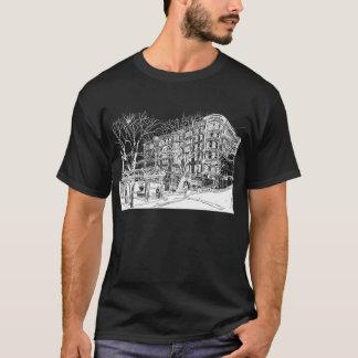 Pioneer Square, Seattle. Night Sky. T-Shirt
