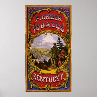 Pioneer Tobacco Kentucky Poster