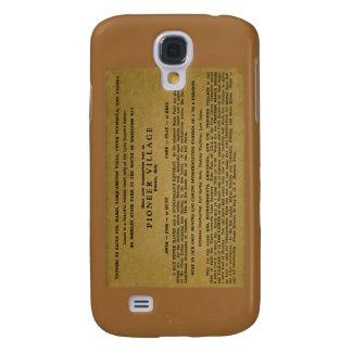 Pioneer Village, Brimley, Michigan Galaxy S4 Case