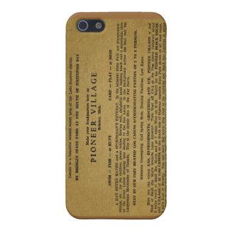 Pioneer Village, Brimley, Michigan Cases For iPhone 5