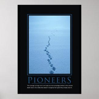 Pioneers Demotivational Poster