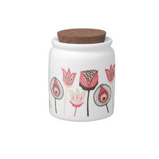 Pip Pip Hooray Funky Dessert Party Flower Jar Candy Jars