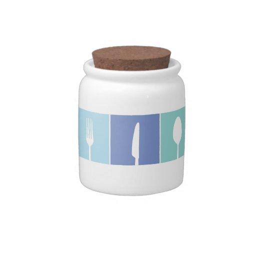 Pip Pip Hooray Kitchen Coffee Sugar Utensils Jar Candy Jars